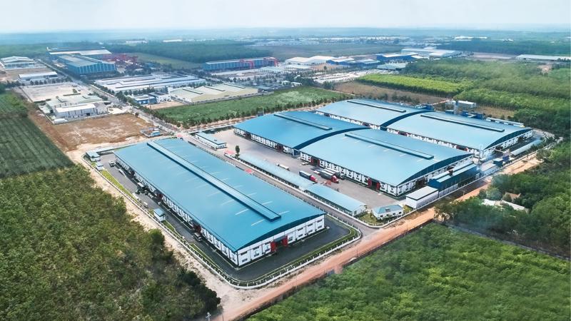 Hệ thống nhà máy An Cường tại khu công nghiệp KBS - Bình Dương.
