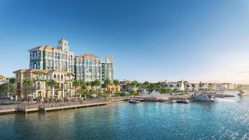 """Habana Island có """"toạ độ vàng"""" vừa giáp sông vừa giáp biển, nên rất thu hút thị trường ở phân khúc bất động sản nghỉ dưỡng hạng sang."""