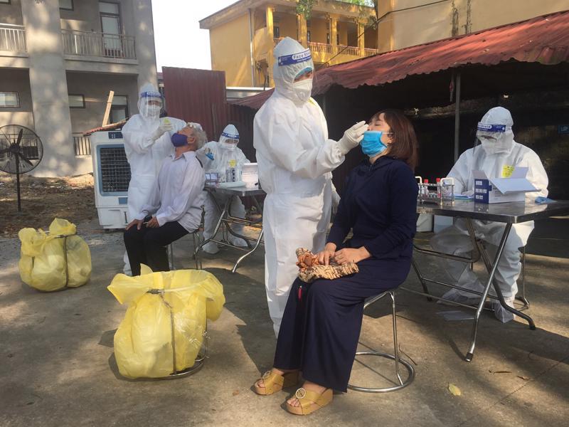 Tỉnh Bắc Ninh cần có kế hoạch cụ thể trong việc thực hiện xét nghiệm.