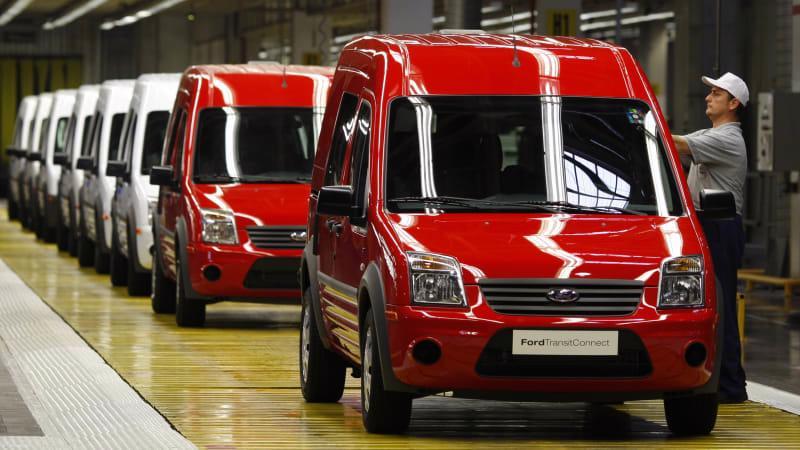 Xe tải Transit Connect có vai trò quan trọng đối với hoạt động kinh doanh của Ford - Ảnh: Getty Images
