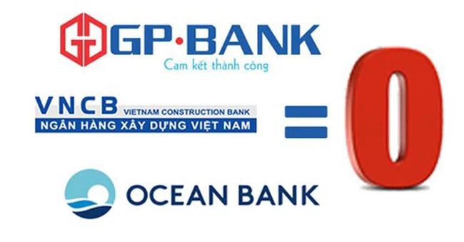 """Trong hơn 6 năm nay với ba ngân hàng được mua lại với giá 0 đồng, đã dồn lực để """"cứu chữa"""" nhưng các ngân hàng này vẫn không thể gượng dậy và đứng vững trên thị trường."""