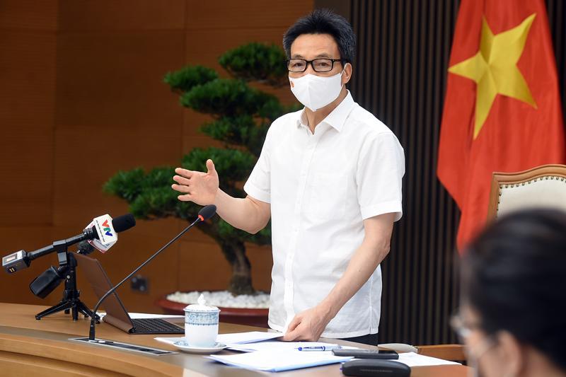 Phó Thủ tướng Vũ Đức Đam. Ảnh - VGP/Đình Nam.