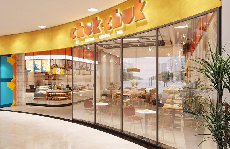 Cửa hàng Chuk Chuk được phát triển ttheo chuỗi nhượng quyền thương hiệu theo chuẩn quốc tế với 1.000 cửa hàng đến 2025.