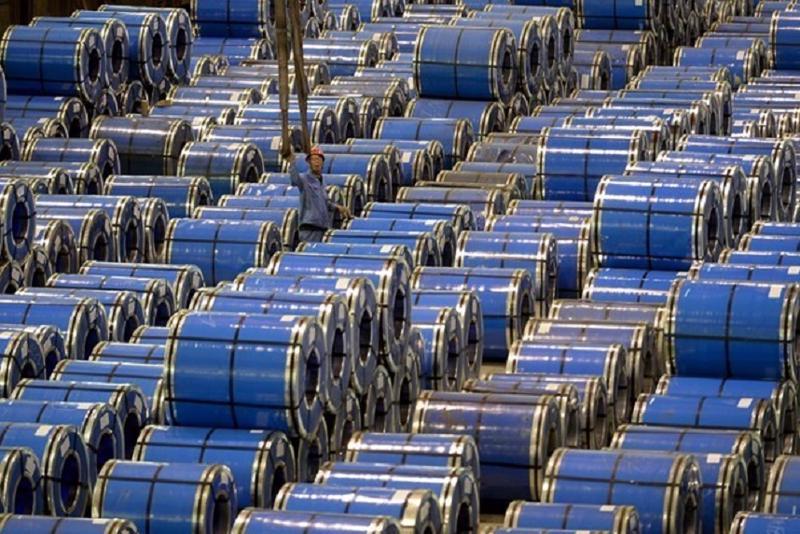 Bắt đầu tiến hành điều tra chống bán phá giá đối với thép mạ nhập khẩu.