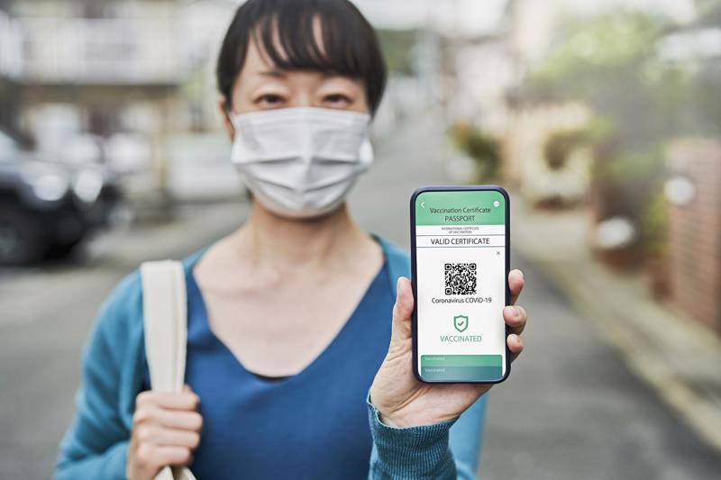 Sau EU, Nhật Bản dự định triển khai hộ chiếu vaccine vào mùa hè này và hộ chiếu vaccine điện tử vào cuối năm - Ảnh: Getty Images