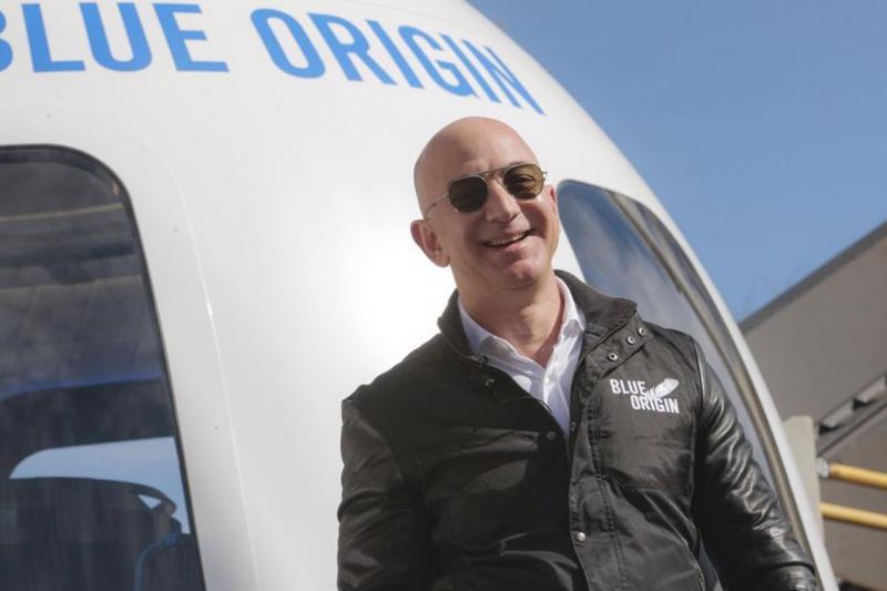 Tỷ phú Jeff Bezos.
