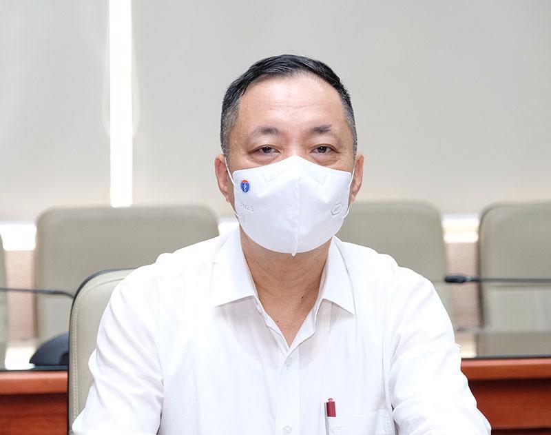 Ông Vũ Tuấn Cường, Cục trưởng Cục Quản lý Dược, Bộ Y tế .