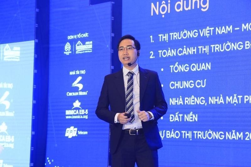 Ông Đinh Minh Tuấn, Giám đốc phụ trách thị trường Tp.HCM và Bình Dương của Batdongsan.com.vn.