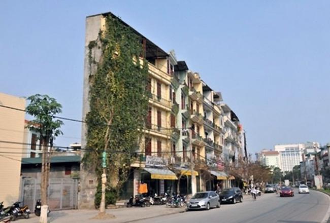Một căn nhà siêu mỏng tại Hà Nội.