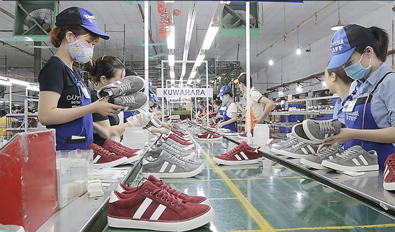 Giày thể thao được xuất khẩu nhiều nhất sang EU trong quý I/2021