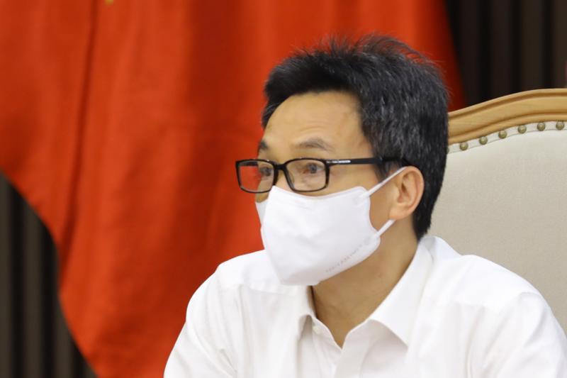 Phó Thủ tướng Vũ Đức Đam chủ trì cuộc hop. Ảnh - VGP/Đình Nam.