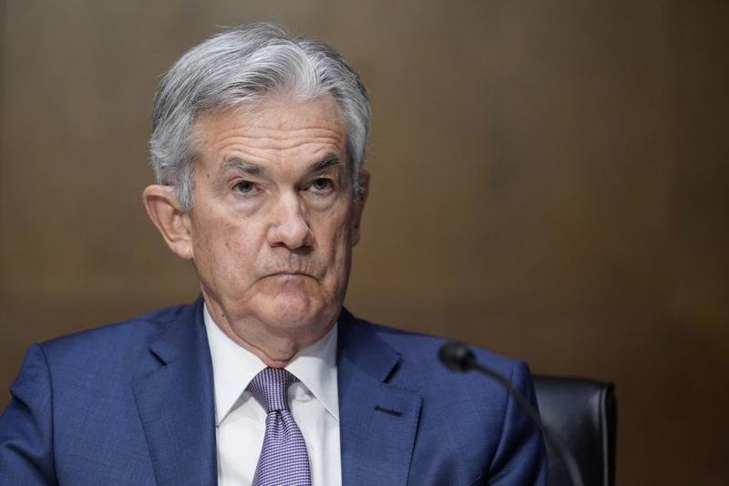 Chủ tịch Cục Dự trữ Liên bang Mỹ (Fed) Jerome Powell - Ảnh: Bloomberg.