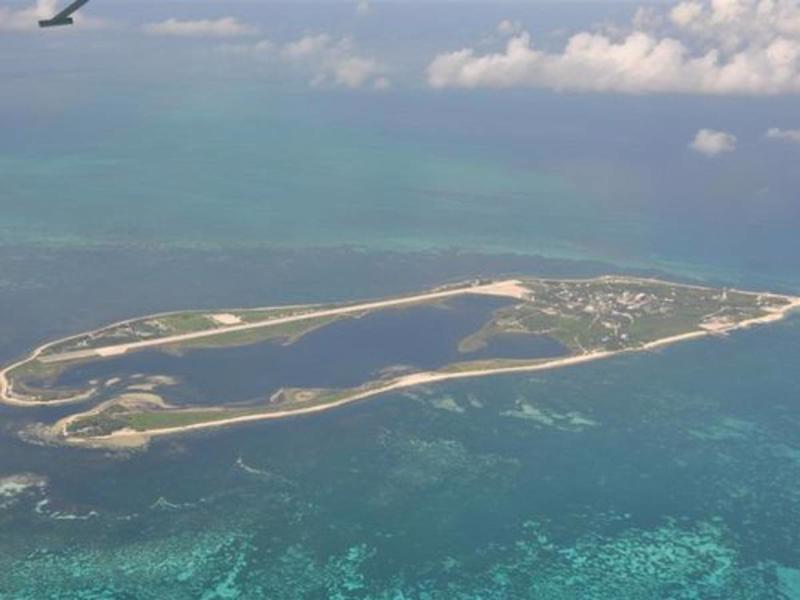 Ba Bình là hòn đảo lớn nhất tại quần đảoTrường Sa của Việt Nam - Ảnh: Worlddefence