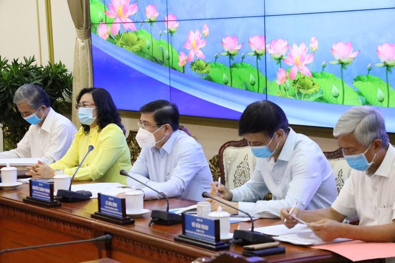 TP.HCM họp bàn giải pháp thúc đẩy tăng trưởng kinh tế sau đại dịch.