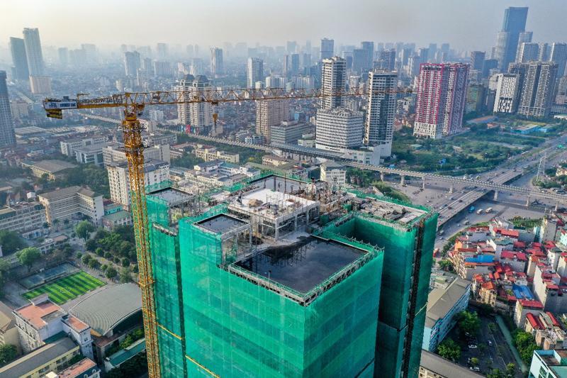 Dự án The Nine hoàn thành cất nóc đầu tháng 5/2021, bàn giao nhà tháng 2/2022.