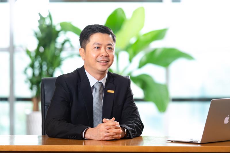 Ông Nguyễn Minh Tâm, Phó Tổng giám đốc Sacombank.