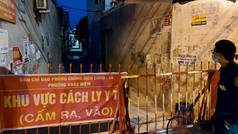 Phường Khắc Niệm, một địa bàn nóng về dịch bệnh tại thành phố Bắc Ninh.