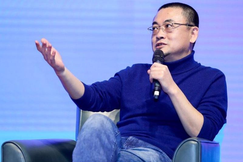 Ông Zhao Peng - chủ tịch kiêm CEO của Kanzhun - Ảnh: Getty Images