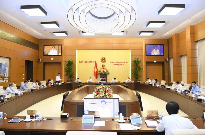Toàn cảnh phiên họp - Ảnh: Quochoi.vn