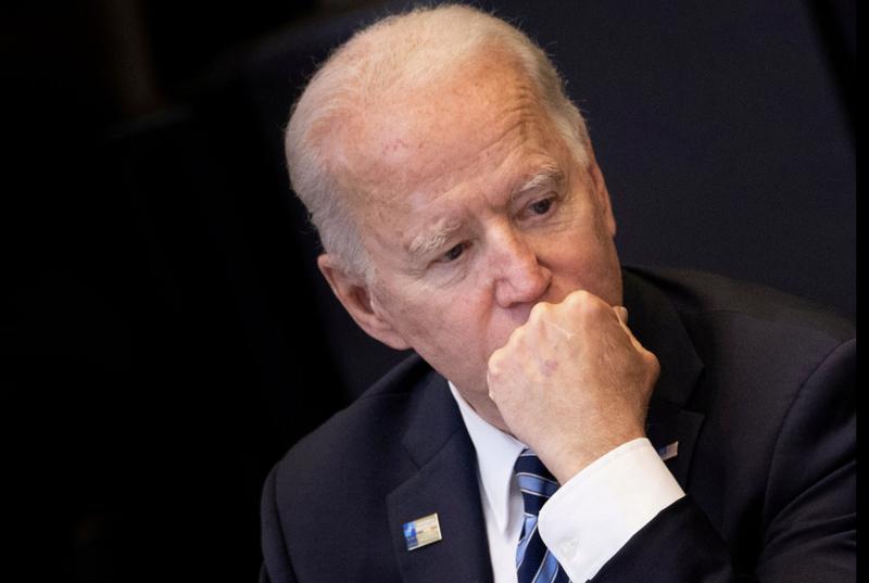 Tổng thống Mỹ Joe Biden trong một phiên họp tại thượng đỉnh NATO ở Brussels, Bỉ, ngày 14/6 - Ảnh: Reuters.