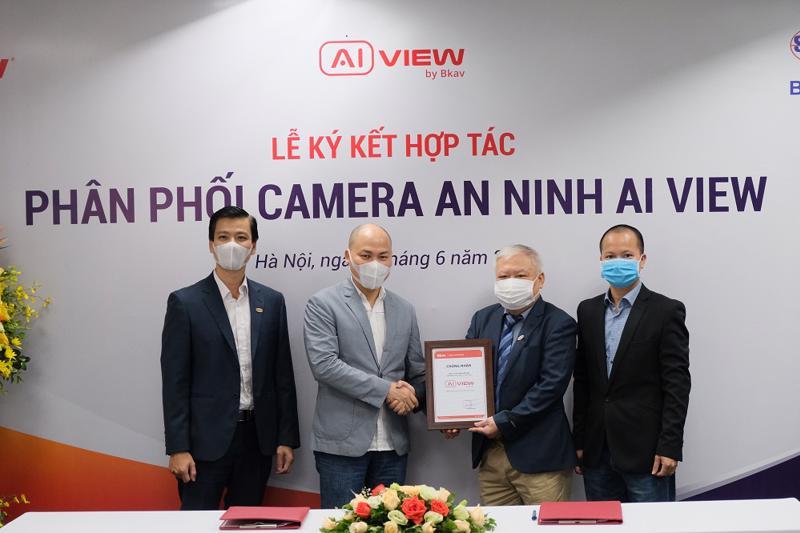 Camera an ninh AI View do Bkav sản xuất sẽ được Biển Bạc phân phối tại thị trường Việt Nam