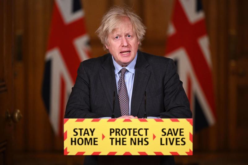 Thủ tướng Anh Boris Johnson - Ảnh: AP