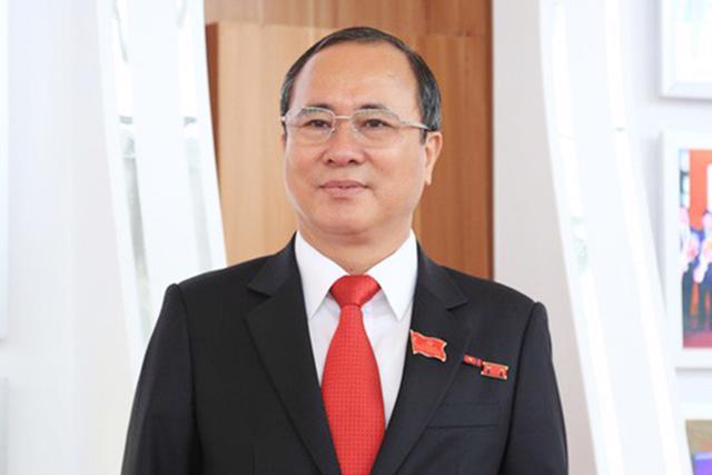 Bí thư Tỉnh ủy Bình Dương Trần Văn Nam - Ảnh: Quochoi.vn.