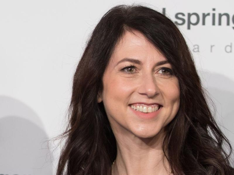 Bà MacKenzie Scott - Ảnh: Bloomberg.