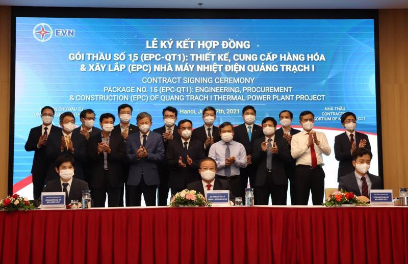 Lễ ký kết gối thầu số 15 (EPC -QTI)