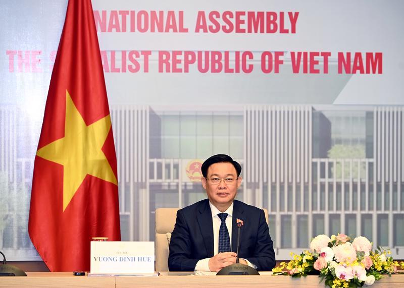 Chủ tịch Quốc hội Vương Đình Huệ - Ảnh: Báo Đại biểu Nhân dân