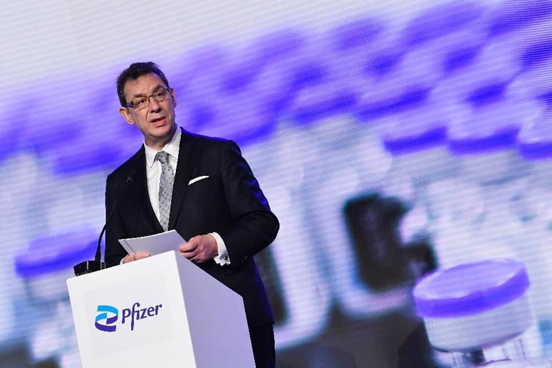Ông Albert Bourla, CEO Pfizer - Ảnh: Getty Images