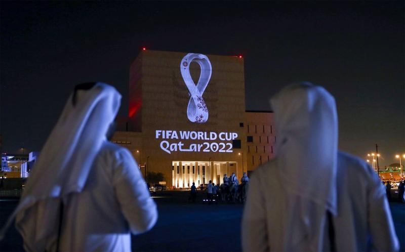 World Cup 2022 được kỳ vọng mang lại lợi ích kinh tế lớn cho Qatar - quốc gia đăng cai tổ chức vào tháng 11-12/2022 - Ảnh: Bloomberg