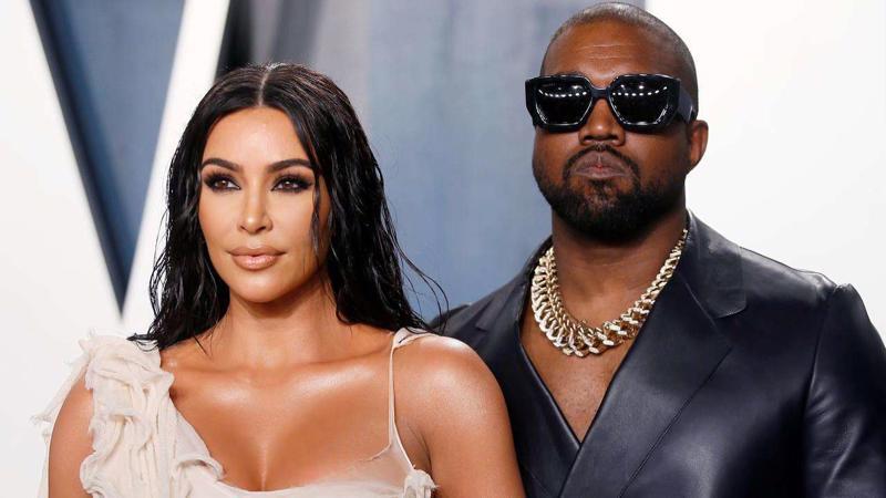 Kim Kardashian West và chồng cũ Kanye West - Ảnh: Getty Images