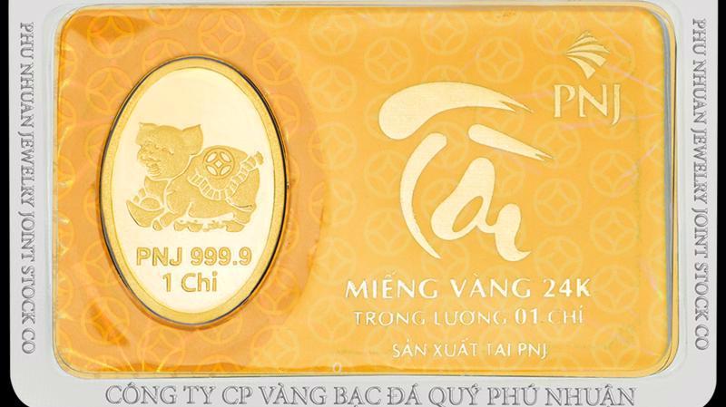 5 tháng năm 2021, vàng miếng chiếm tỷ trọng 26,6% trong cơ cấu doanh thu của PNJ.