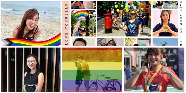 Nhân viên Citi đã tham gia cuộc thi ảnh để thể hiện sự ủng hộ của họ đối với sự đa dạng và hòa nhập bằng cách chụp ảnh với lá cờ Cầu vồng và tải ảnh lên trang Facebook cá nhân của họ.