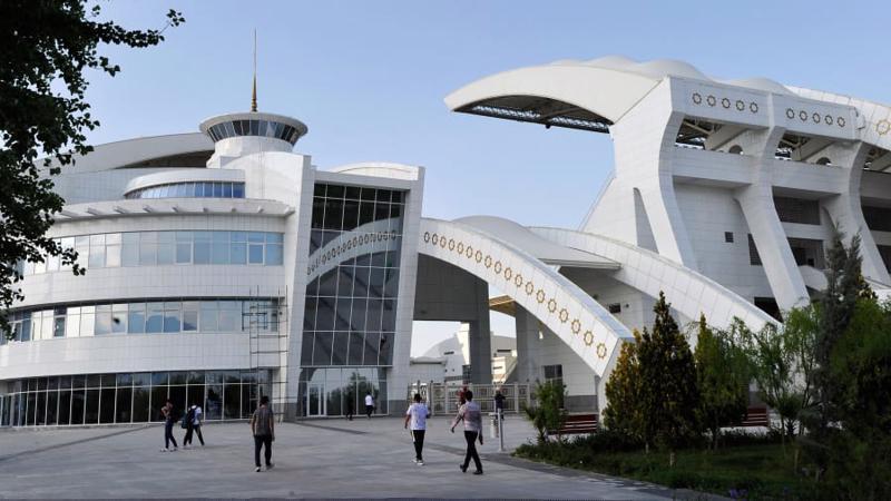 Ashgabat, thủ đô Turkmenistan - Ảnh: Getty Images