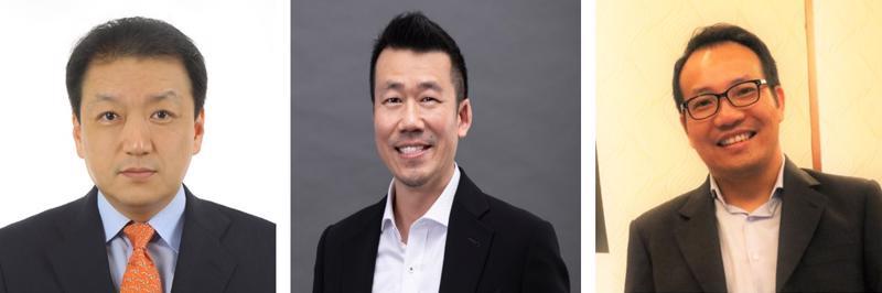 HCL bổ nhiệm ông Joonho Moon cho thị trường Hàn Quốc, ông Terry Tai cho thị trường Đài Loan và ông Nguyễn Hà Tuấn cho thị trường Việt Nam (từ trái sang phải).