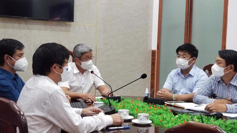 Thứ trưởng Nguyễn Trường Sơn phát biểu chỉ đạo tại buổi tập huấn.