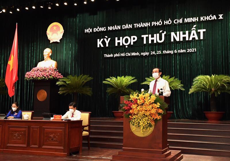 Khai mạc kỳ họp thứ nhất HĐND TP.HCM khóa X nhiệm kỳ 2021-2025.