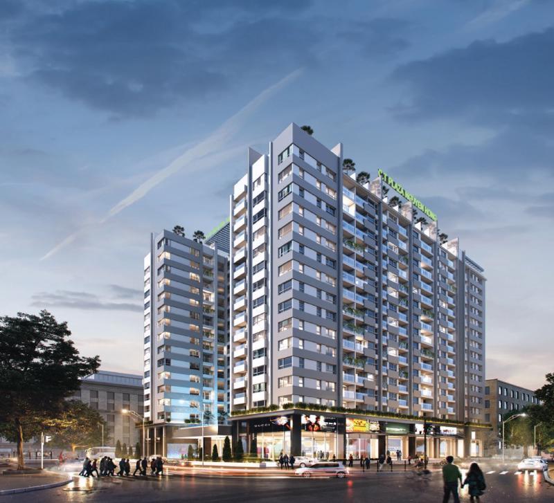 C.T Plaza Nguyên Hồng sở hữu vị trí đắc địa, đem đến cuộc sống đẳng cấp cho cư dân.