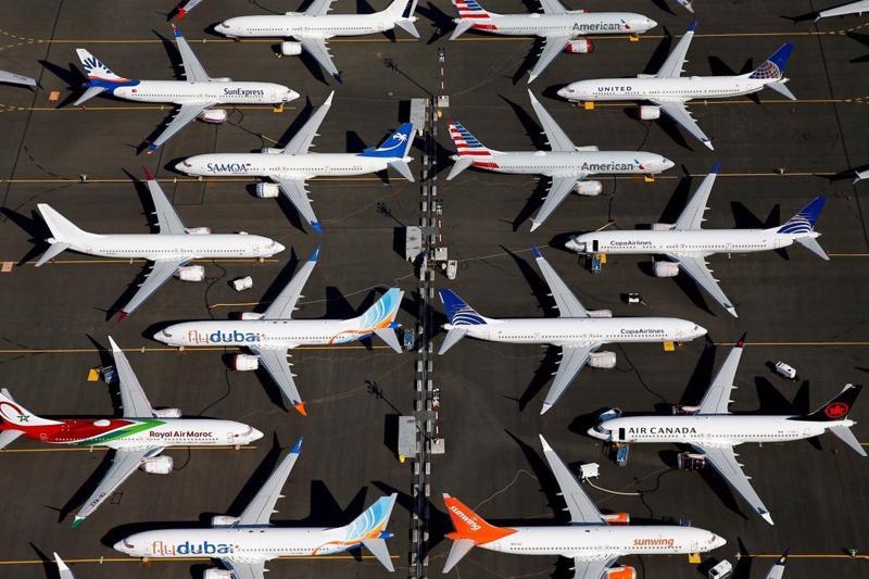 Trung Quốc là quốc gia đầu tiên ra lệnh cấm Boeing 737 MAX vào năm 2019 sau hai vụ tai nạn thảm khốc khiến 346 người thiệt mạng - Ảnh: Reuters