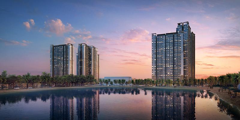 Masteri Waterfront - Nơi đáng sống nhất giữa lòng Đại đô thị Ocean Park.