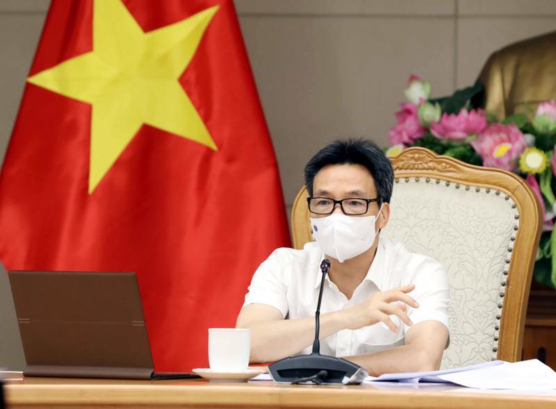 Phó Thủ tướng Vũ Đức Đam chủ trì cuộc họp chiều 28/6. Ảnh - VGP/Đình Nam.