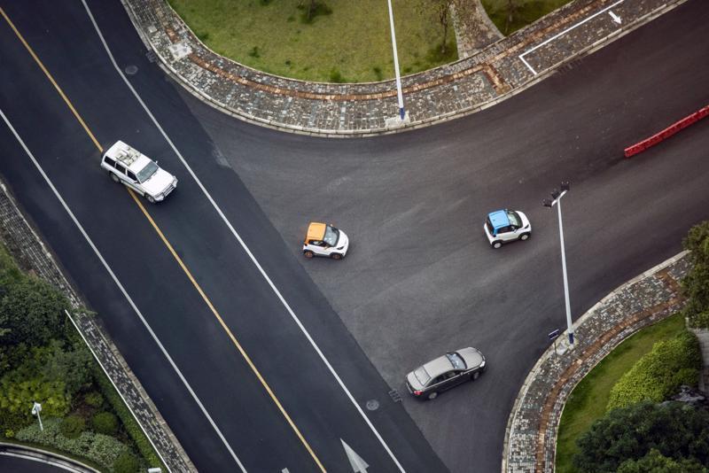 Xe điện Baojun E100 của Wuling ở Liễu Châu, Trung Quốc ngày 17/5 - Ảnh: Bloomberg