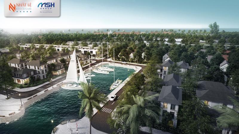 Bảo Ninh có đủ những lợi thế phù hợp để phát triển bất động sản kèm bến du thuyền..