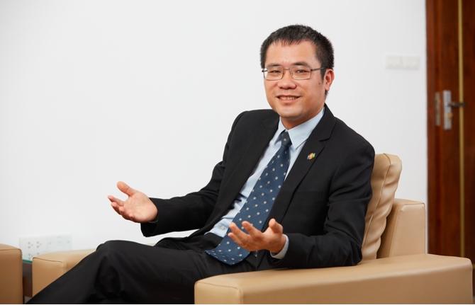 Ông Dương Dũng Triều, Chủ tịch Hội đồng thành viên Công ty Hệ thống thông tin FPT.
