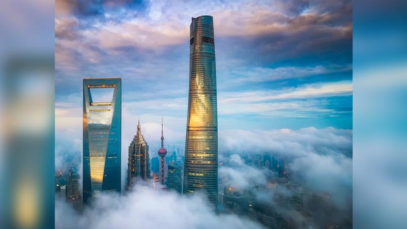 Shanghai Tower với chiều cao 632m là tòa nhà cao nhất tại Trung Quốc - Ảnh: J Hotel Shanghai Tower
