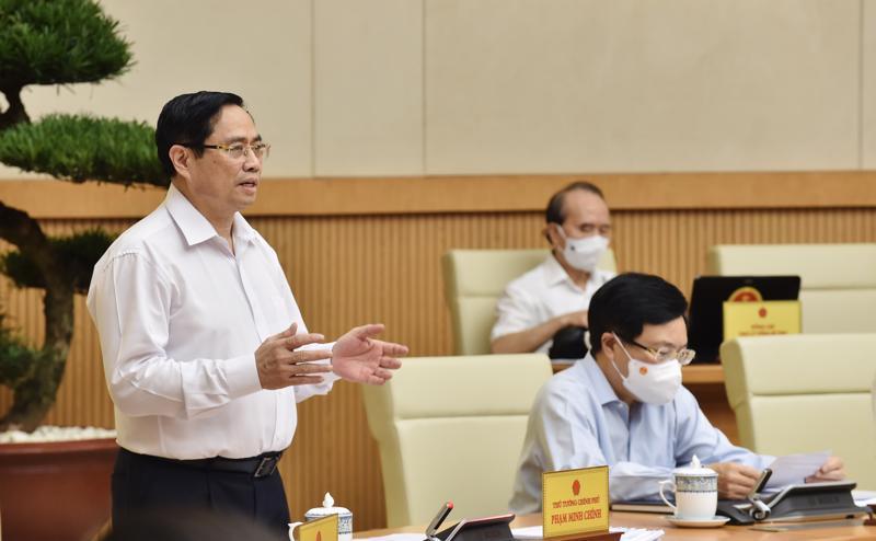 Thủ tướng Phạm Minh Chính chủ trì phiên họp Chính phủ thường kỳ tháng 6 - Ảnh: VGP