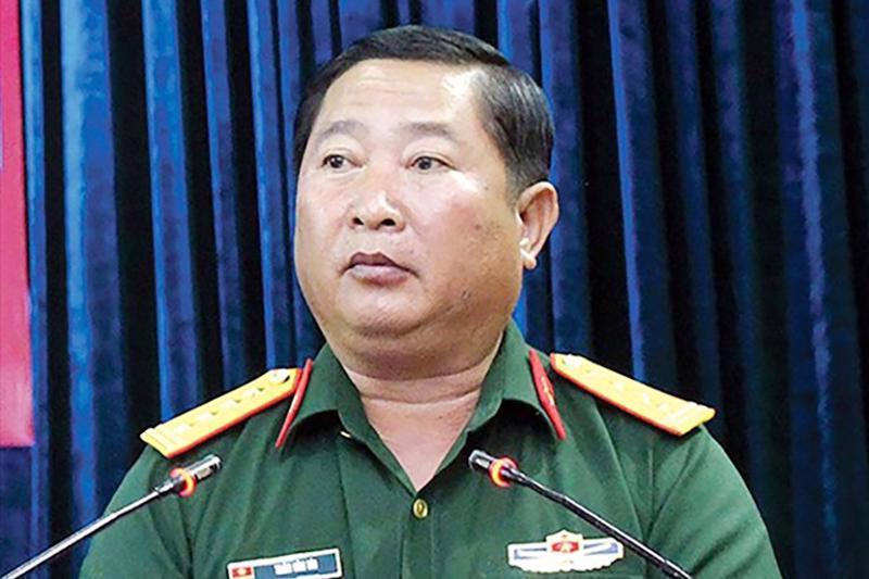 Thiếu tướng Trần Văn Tài - Ảnh: TTXVN