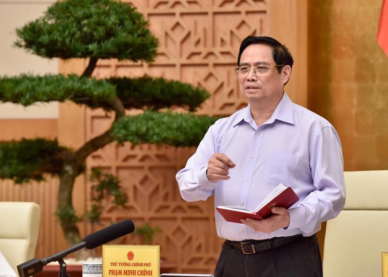 Thủ tướng Chính phủ Phạm Minh Chính tại hội nghị - Ảnh: VGP